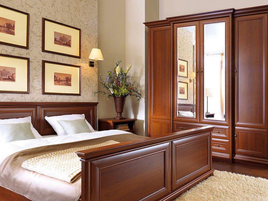 Sypialnie Tradycyjne Nowoczesne łóżka Tapicerowane Szafy